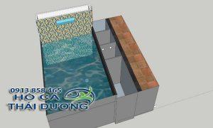 Hệ thống lọc hồ cá ngoài trời